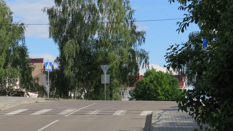 Петришки, пешеходный переход