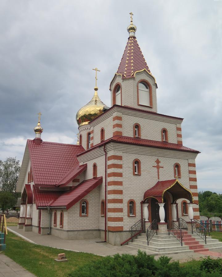 Петришки, Храм святителя Феодосия Черниговского