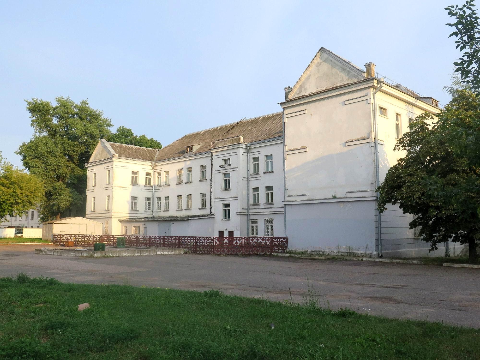 Минск, Аранская 9, вид со двора