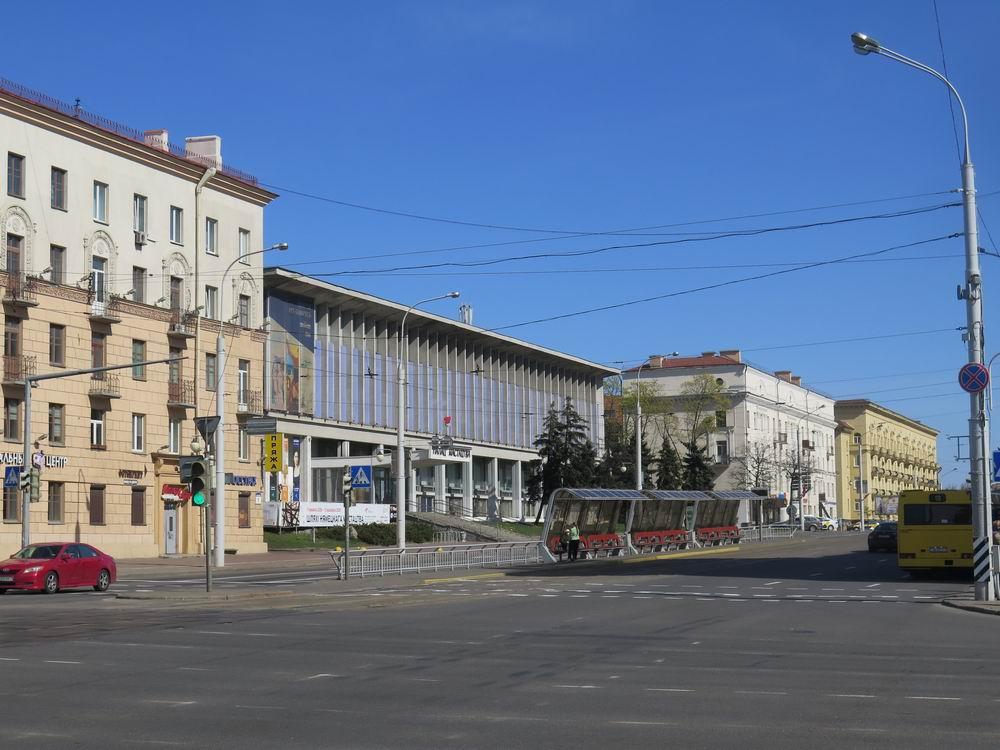 Минск, 1 мая, вид на улицу Козлова
