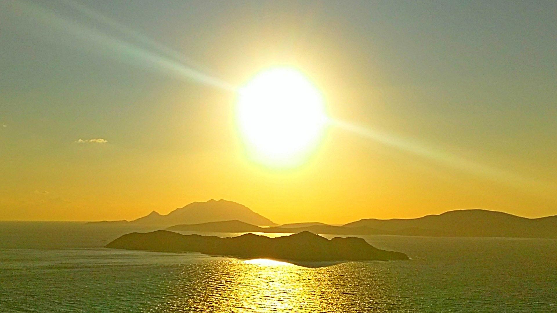 остров Родос, закат, Греция, фото Александр Фоков, Минск