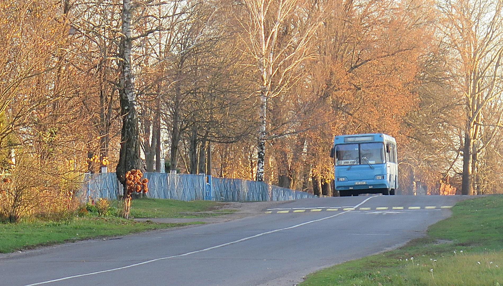 автобус Белицк-Жлобин